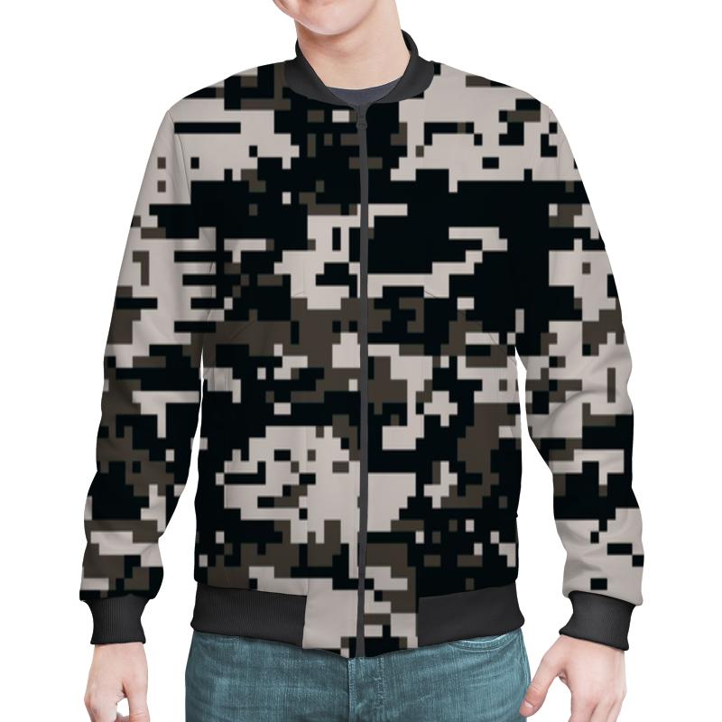 Бомбер Printio Camouflage urban бомберы adidas бомбер men s street modern camouflage track jacket