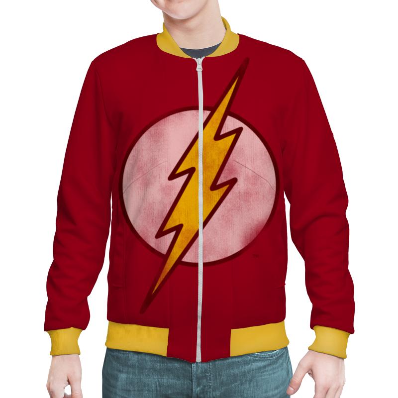 Бомбер Printio Флэш (flash)