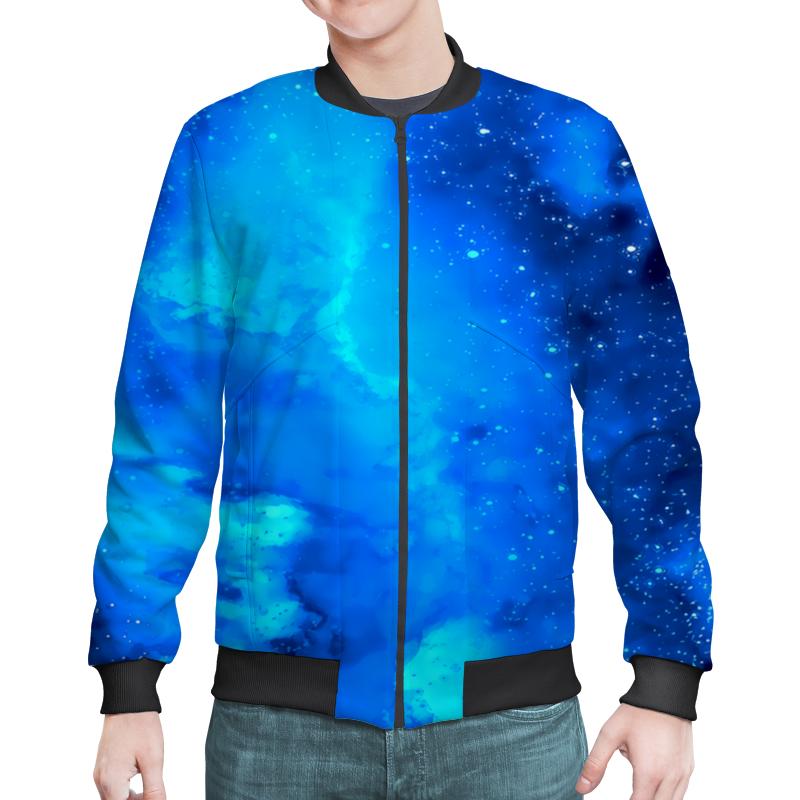 Бомбер Printio Звездное небо