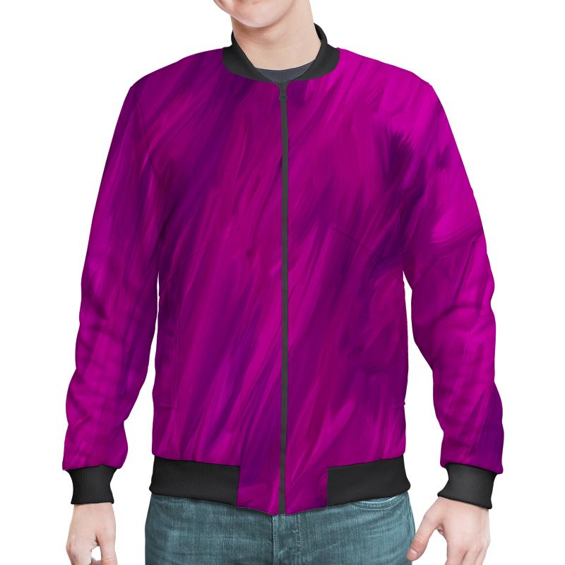 Бомбер Printio Фиолетовый mymei фиолетовый цвет