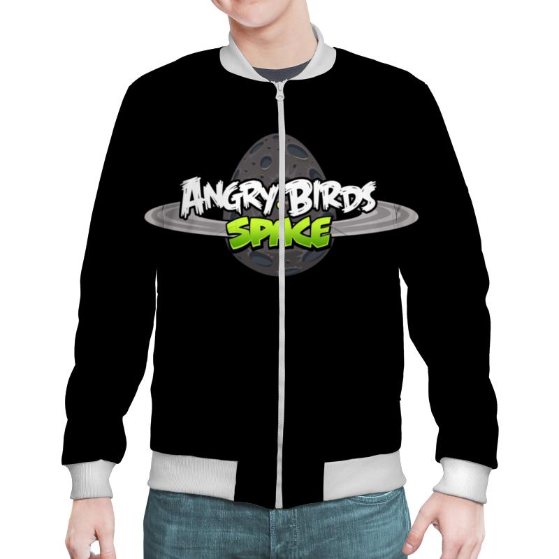 Бомбер Printio Angry birds сапоги резиновые angry birds transformers 5348 размер 23 цвет черные