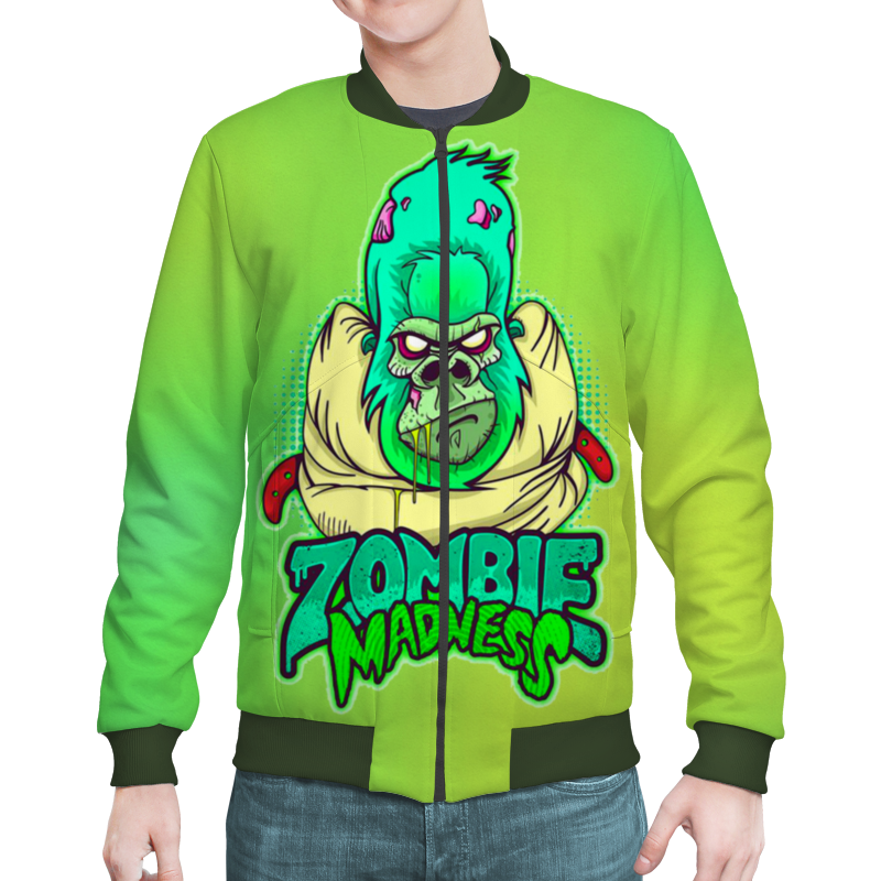 Бомбер Printio Zombie madness