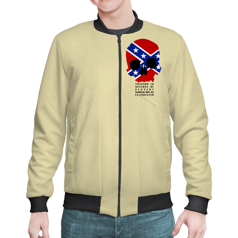 Бомбер Printio Флаг конфедерации сша кепка printio флаг конфедерации сша