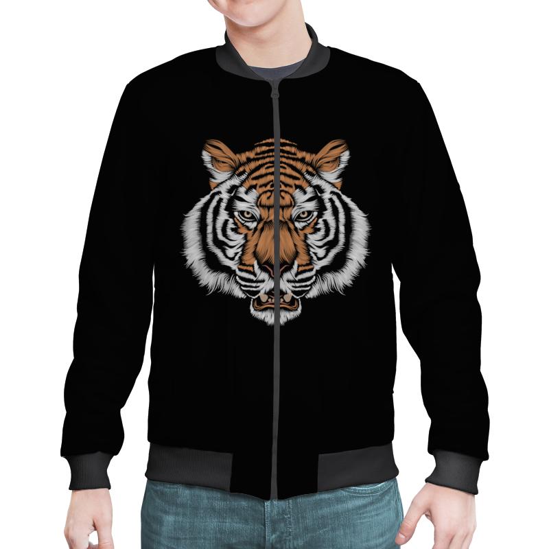 Бомбер Printio Взгляд тигра наборы для рисования цветной картины по номерам взгляд тигра