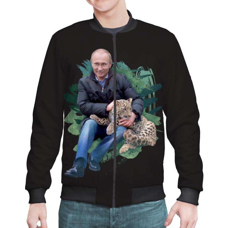Бомбер Printio Путин с леопардом бомбер printio путин