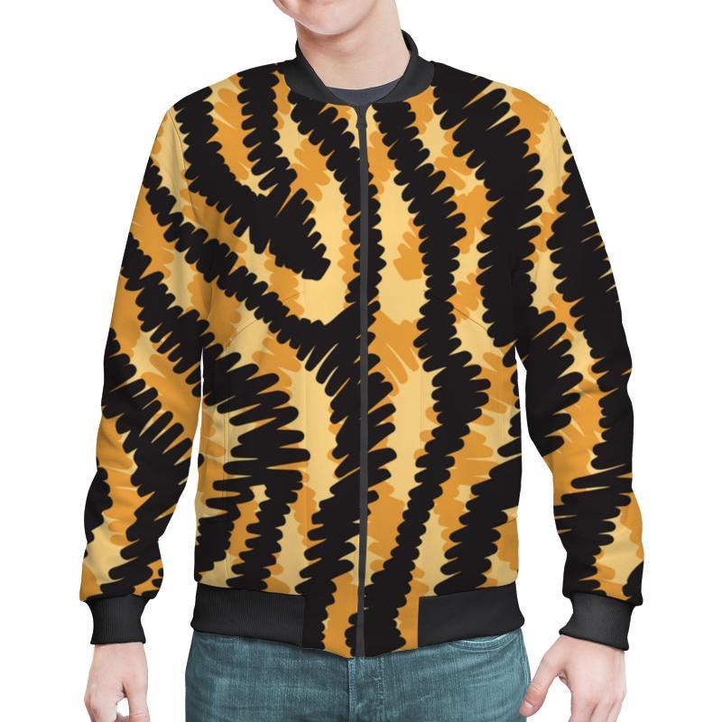 Бомбер Printio Тигровый тигровый орех купить в москве