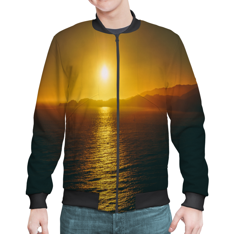 Printio Закат над морем юрий смолич рассвет над морем