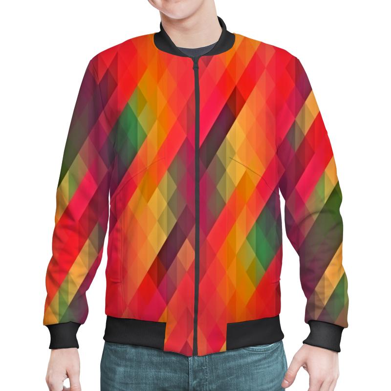 Бомбер Printio Многоцветный joyochfoto многоцветный 5 7ft