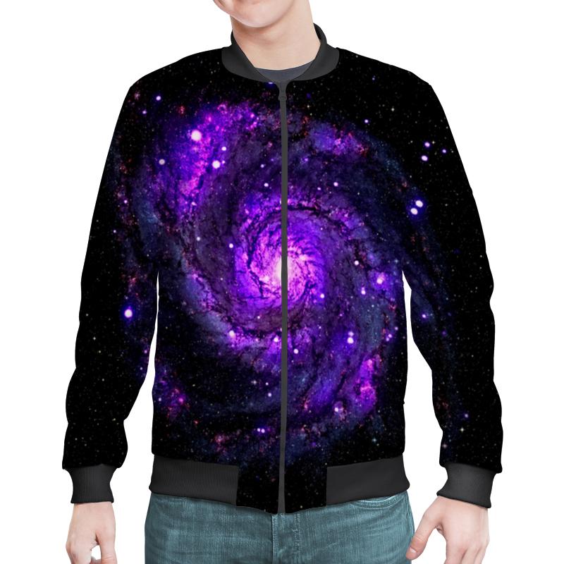 Бомбер Printio Галактика