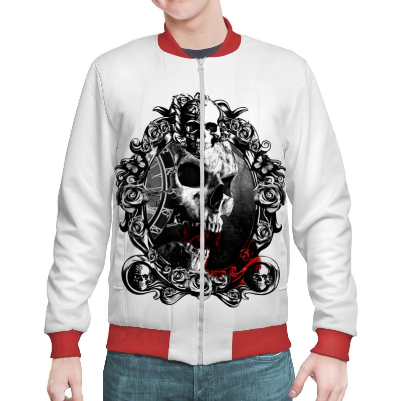 Бомбер Printio Skull - 13 цена