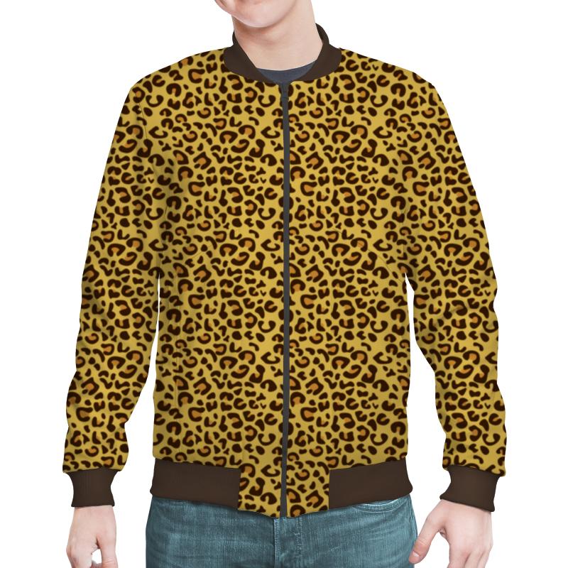 Бомбер Printio Леопардовый цены онлайн
