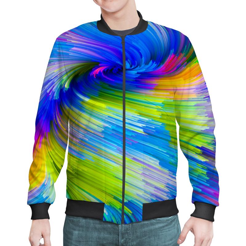 Printio Abstract rainbow бомбер printio zet abstract