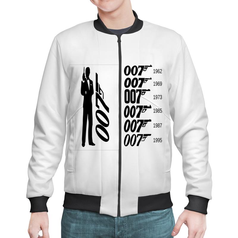 Бомбер Printio Агент 007.