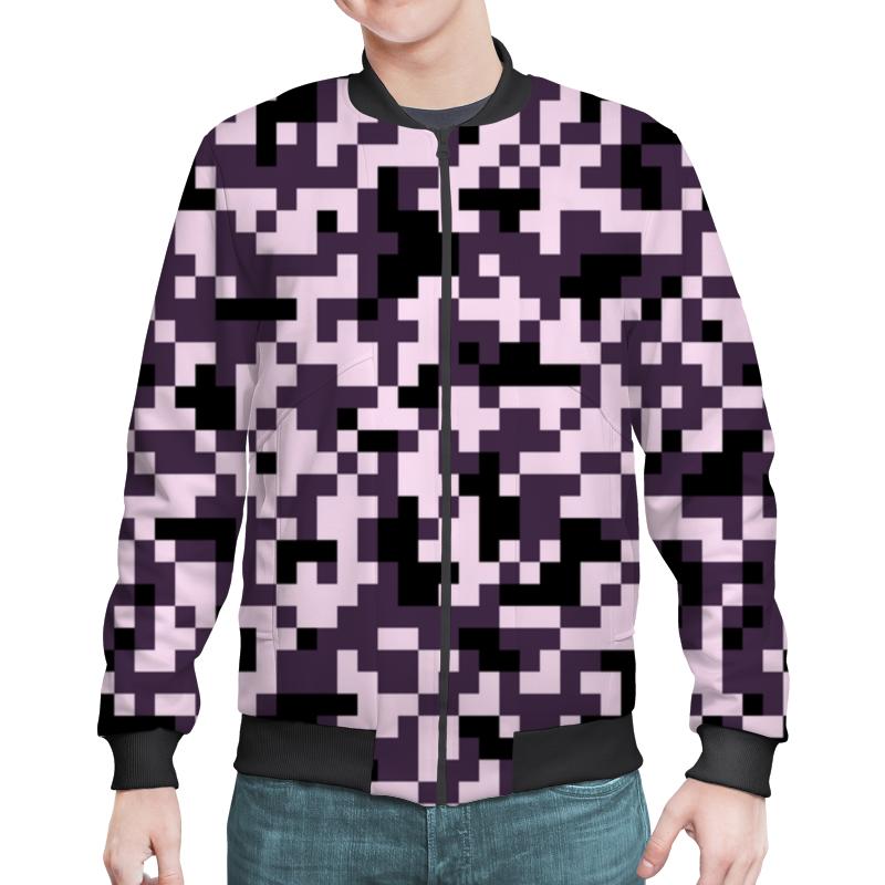 Бомбер Printio Pixel pink самокат trolo pixel