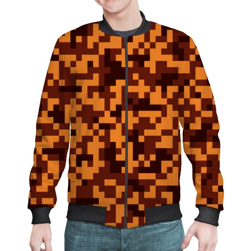 Printio Оранжевые пиксели блокнот printio пиксели