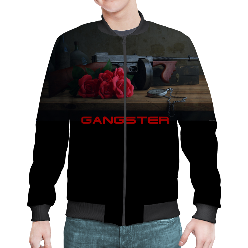 Бомбер Printio Gangster свитшот print bar r one gangster