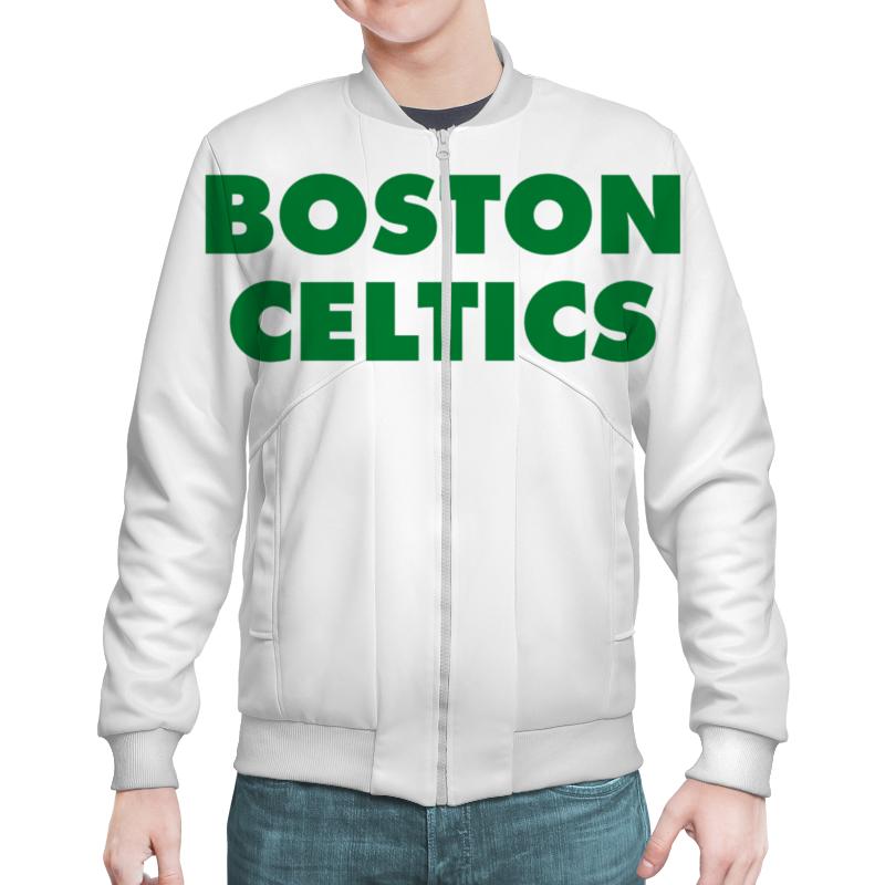 Бомбер Printio Boston celtics белая дмитрий потапов команды – команды – команды