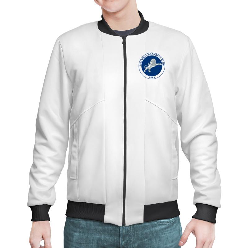 Printio Millwall fc logo bomber jacket куртки adidas куртка бомбер муж tko jacket m utiblk