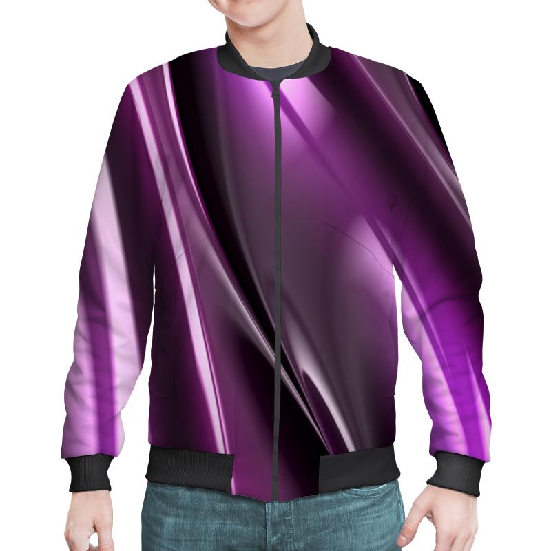 Бомбер Printio Фиолетовые линии юбка карандаш укороченная printio фиолетовые линии