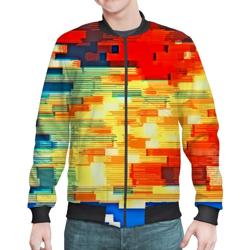Бомбер Printio Pixel color chem eshe poradyut pixel i pixel xl