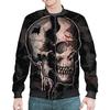 """Бомбер """"Skull"""" - череп, ужас, тьма"""