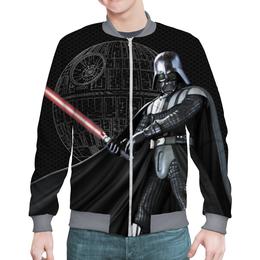 """Бомбер """"Star Wars - Darth Vader&Death Star"""" - космос, фантастика, звездные войны, дарт вейдер, звезда смерти"""