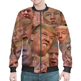 "Бомбер ""TRUMP"" - usa, сша, президент, трамп, trump"