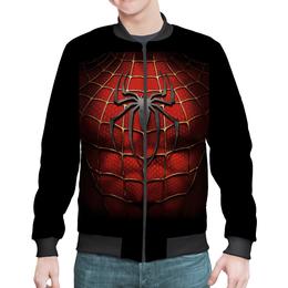 """Бомбер """"Человек-Паук"""" - комиксы, мстители, марвел, человек-паук"""