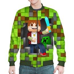 """Бомбер """"Minecraft"""" - компьютерные игры, майнкрафт, приключение, игроманам, строителям"""