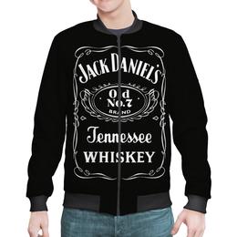 "Бомбер ""Jack Daniels"" - джэк дэниелс, виски"