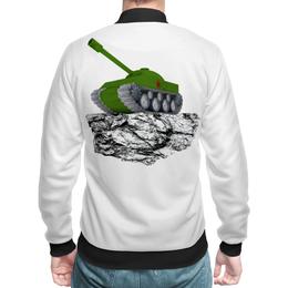 """Бомбер """"С 23 февраля!"""" - 23 февраля, день защитника отечества, танк, февраль, прадник"""