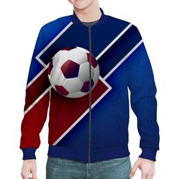 "Бомбер ""Футбол"" - футбол, спорт, мяч, 2018"