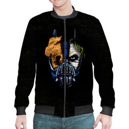 """Бомбер мужской """"Джокер (Бэтмен)"""" - batman, джокер, бэтмен, mortal kombat, темный рыцарь"""