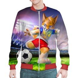 "Бомбер ""FOOTBALL RUSSIA"" - футбол, мужу, россия, футболистам, спортсменам"