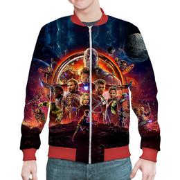 "Бомбер ""Avengers: Infinity War"" - супергерои, мстители, avengers, танос, марвел комиксы"