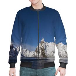 """Бомбер """"Север"""" - снег, горы, океан, север, льды"""