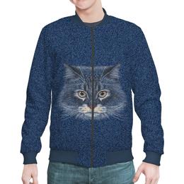 """Бомбер """"Котик"""" - кот, животное"""
