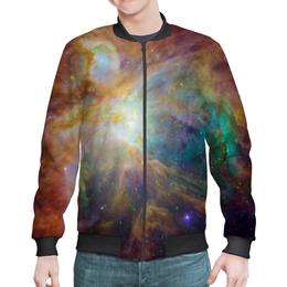 """Бомбер """"Космические краски"""" - звезды, космос, небо, краски, галактика"""