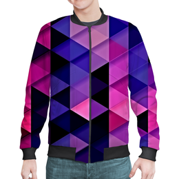 """Бомбер """"цветпарад"""" - абстракция, цветные, геометрия, abstraction, треугольники"""