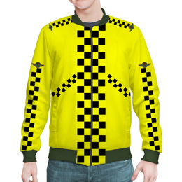 "Бомбер ""Такси"" - знак, табличка, униформа, taxi, кокарда"