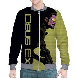 """Бомбер """"Deus-Ex"""" - шутер, с оружием, экшн, деус экс, игроманам"""