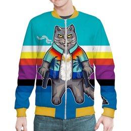 """Бомбер """"CatMafia"""" - юмор, коты, мафия, кот бегемот, с пистолетами"""