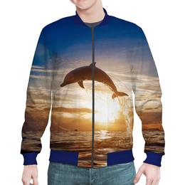 """Бомбер """"Дельфин"""" - природа, фотография, дельфин"""