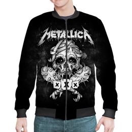 """Бомбер """"Metallica"""" - рок, metallica, группы, метал, металлика"""