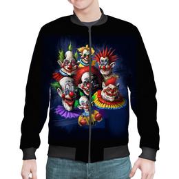 """Бомбер """"Клоуны-злодеи"""" - ужасы, фэнтэзи, клоуны, злодеи"""
