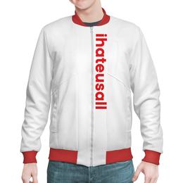 """Бомбер """"Haters jacket"""" - haters, asap rocky, streetwear, молодой бренд, bomber"""