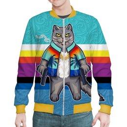 """Бомбер """"CatMafia (new)"""" - коты, мужчине, кошатникам"""