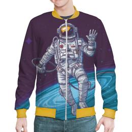 """Бомбер """"Space"""" - космос, вселенная, наука, астрономия, the spaceway"""