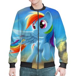 "Бомбер ""Радуга Дэш"" - rainbow dash, my little pony, friendship is magic, радуга дэш"