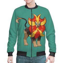 "Бомбер мужской ""Покемон Пайроар"" - pokemon pyroar, покемон пайроар, игра pokemon go"